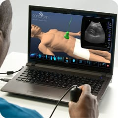 SonoSim releases new aorta and IVC scanning module