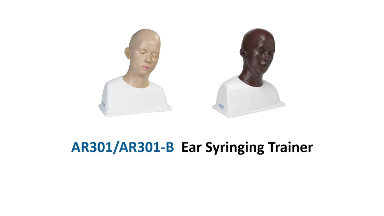 AR301 Ear Syringing Trainer_Moment