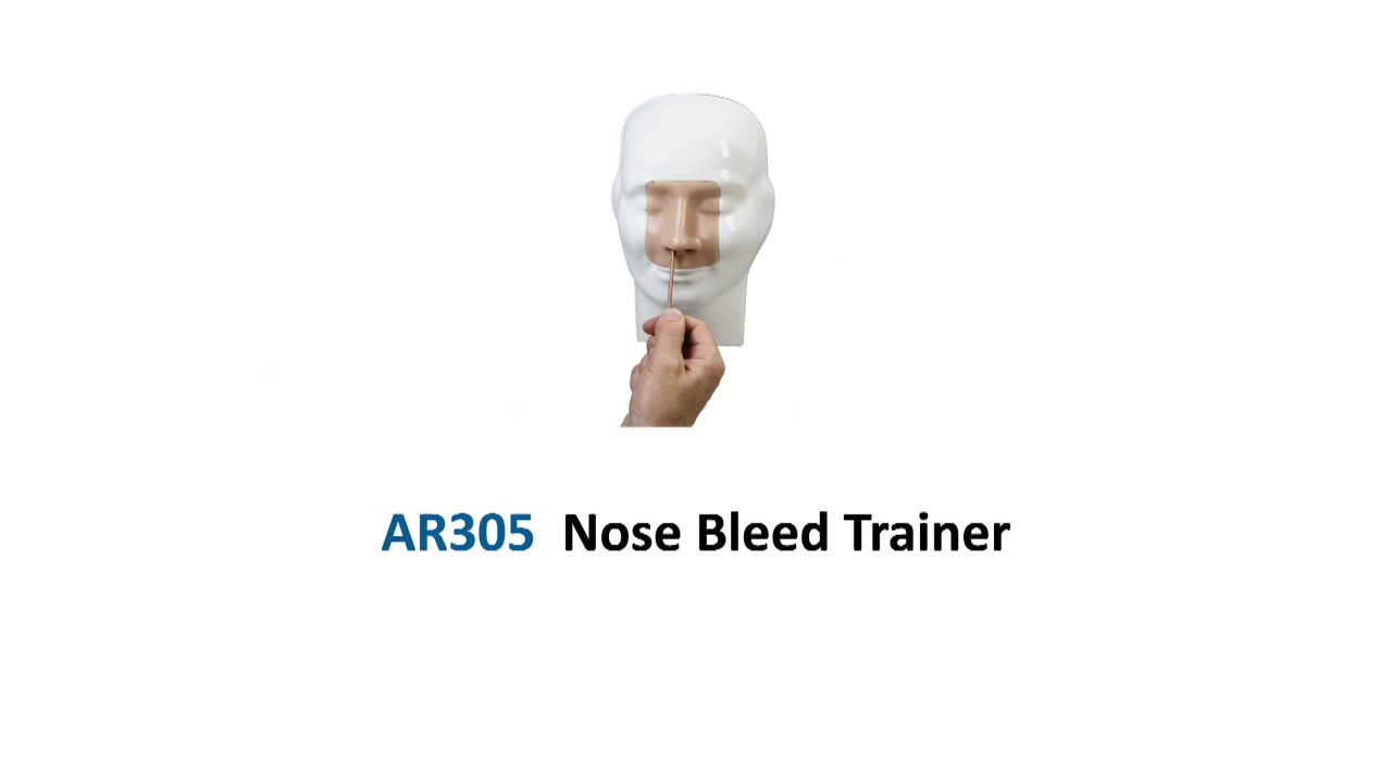 AR305 Nosebleed-Epistaxis Trainer_Moment